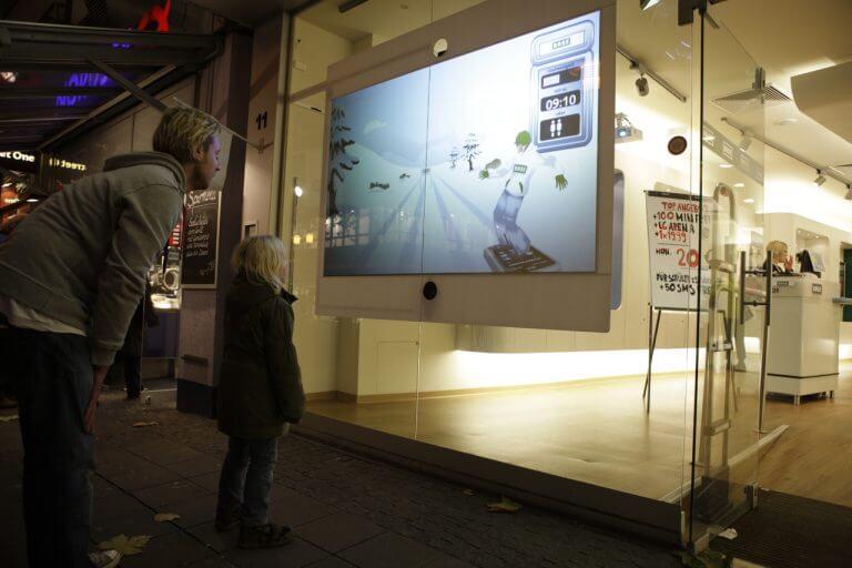 Digitales Schaufenster Gamification