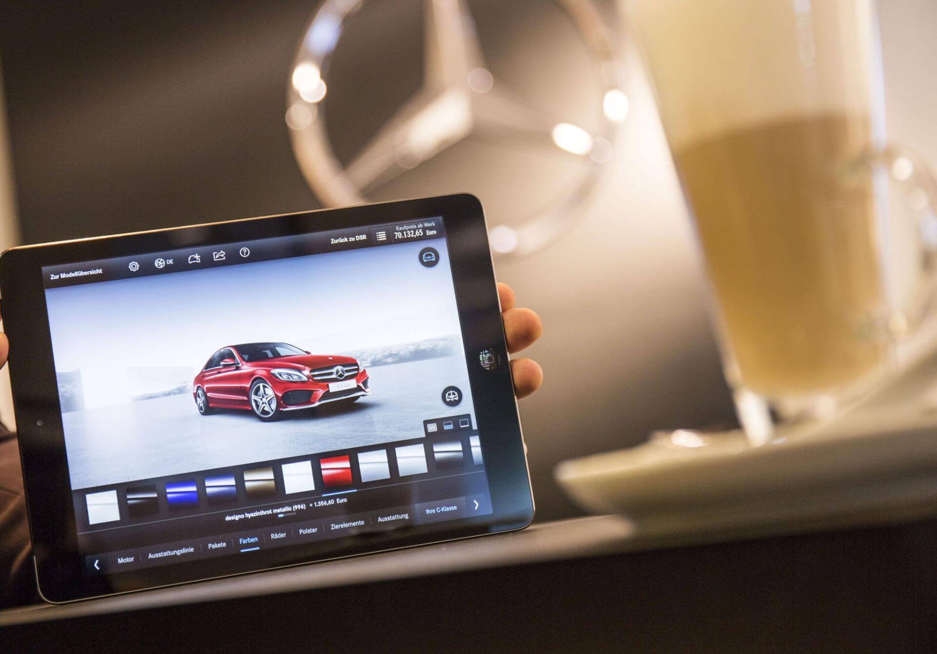 Sales Tablet Kunden App