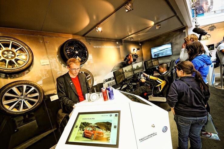 Volkswagen – Testdrive Rally Simulator
